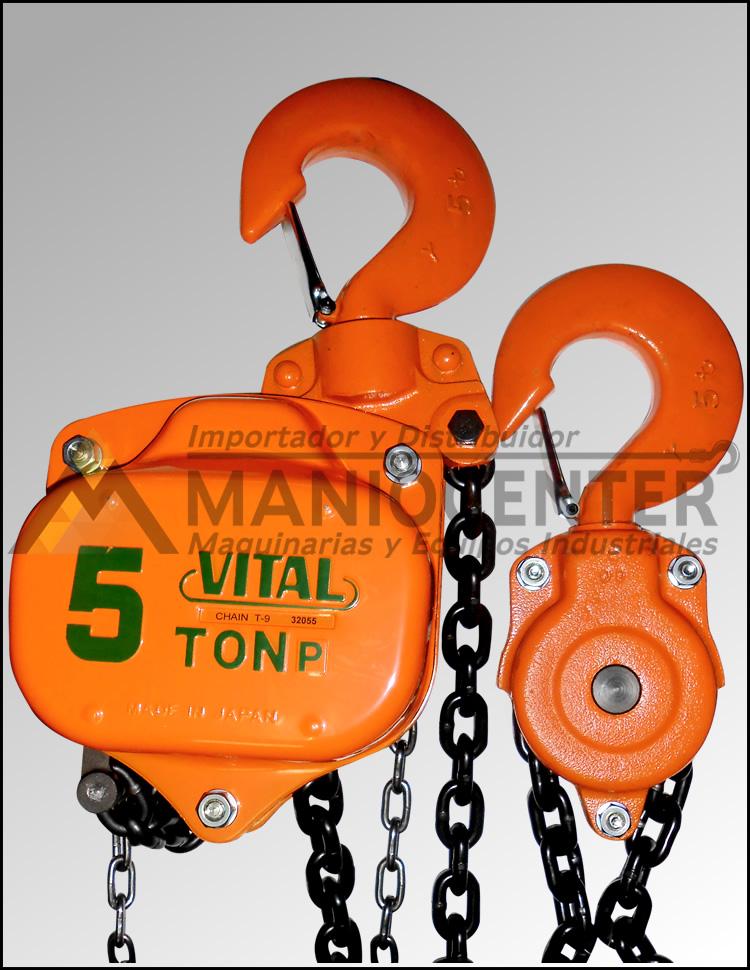 Tecles Manual Vital 5ton