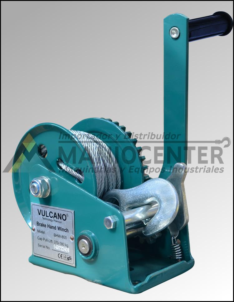 Winche Manual Vulcano